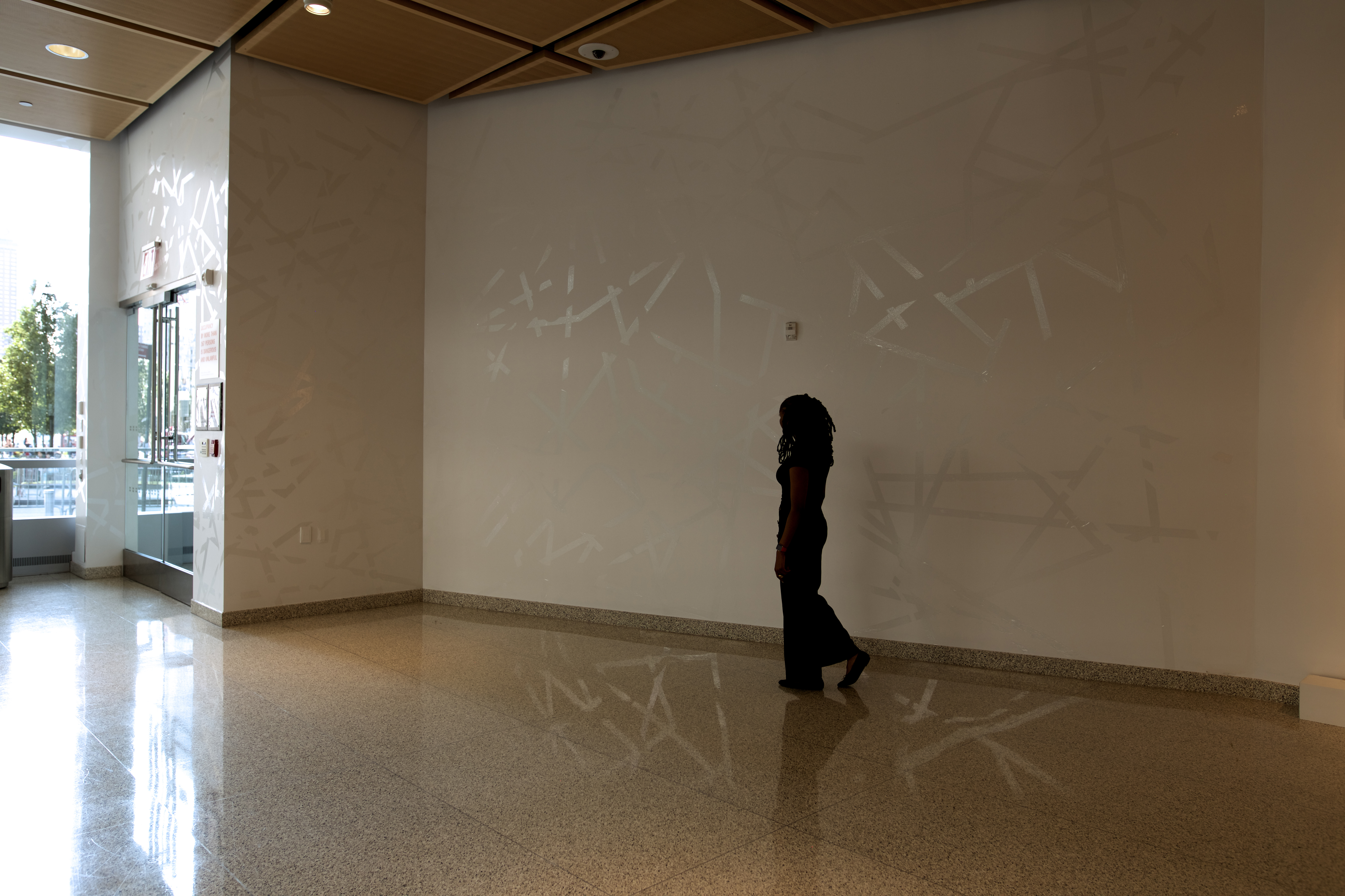 Packing Tape #2, Gesture, at BMCC Shirley Fiterman Gallery